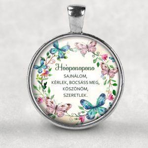 Ho'oponopono Medál ezüst színű, 35mm