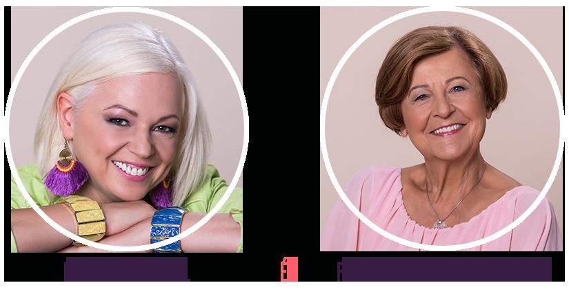 Bagdi Bella és Prof. Dr. Bagdy Emőke