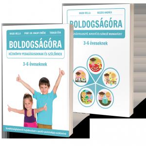 Boldogságóra kézikönyv és munkafüzet 3-6 éves korosztály számára