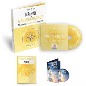 Iránytű a BOLDOGSÁGHOZ zenés-meditációs csomag